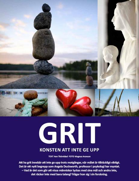 GRIT. Artikel av Ann Thörnblad