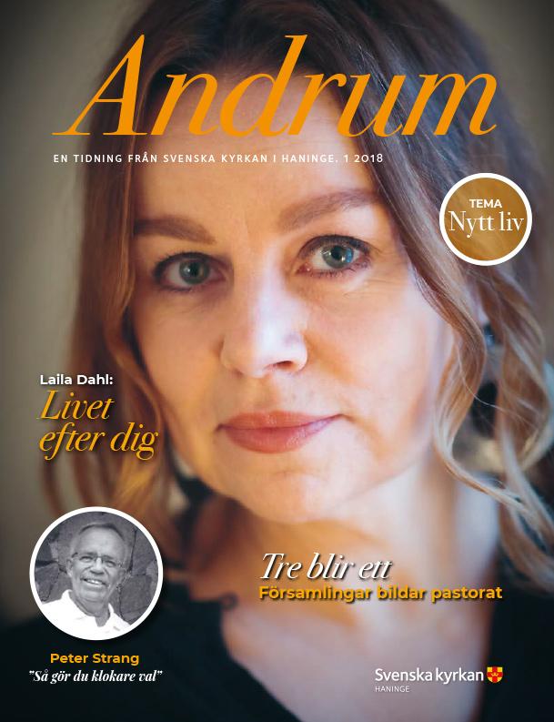 Andrum. Artikel av Ann Thörnblad om Laila Dahl.
